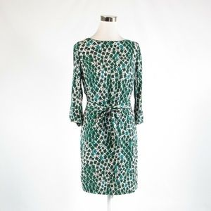 Green BODEN sheath dress 8